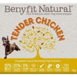 Benyfit Natural Tender Chicken Raw Dog Food