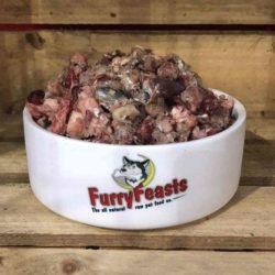 Furry Feasts Beef and Oily Fish Mince Raw Dog Food