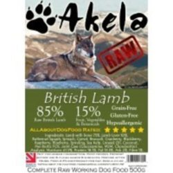akela Raw Dog Food Lamb Complete