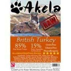 akela Raw Dog Food Turkey Complete