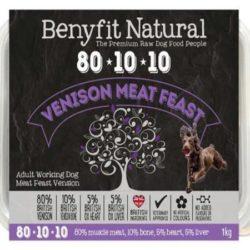 Benyfit Venison Meat Feast Raw Dog Food