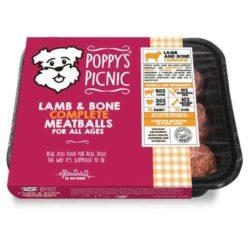 Poppys Picnin Lamb Complete Meatballs