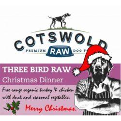 Cotwold Raw Three Bird Raw Christmas Dinner