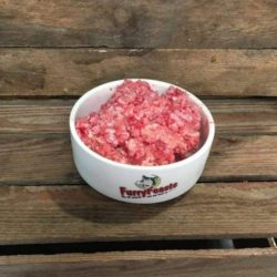 furry feasts goos & beef complete raw dog food