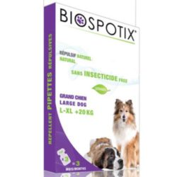 Biospotix spot on large dog natural flea spot on
