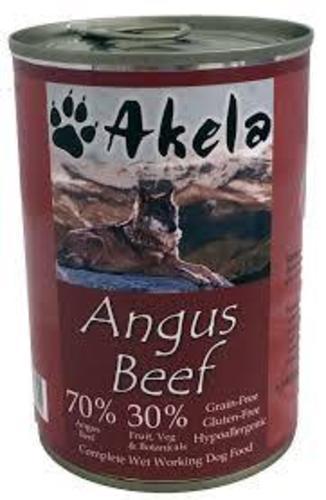 Akela wholeprey Angus Beef wet food