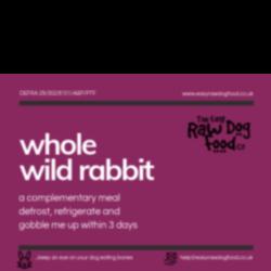 Easy Dog Raw Whole Rabbit