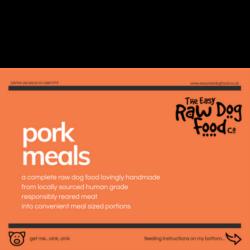 The Easy Raw Dog Food Company 80:10:10