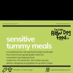 The Easy Raw Dog Food Company Sensitive Tummy