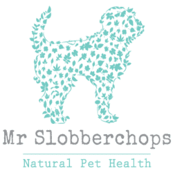 Mr slobberchops logo natural worming products