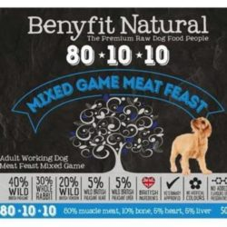 Benyfit Natural Mixed Game Meat Feast