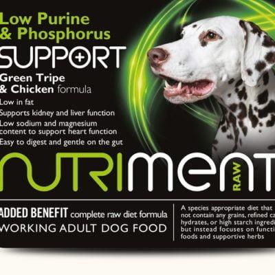 Nutriment Low Purine & Phosphorus Support 500g