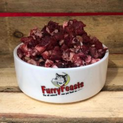 Furry Feasts Meaty and Chunky Complete Raw Dog Food