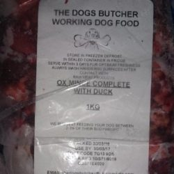 The Dogs Butcher Ox Mince with Duck Complete
