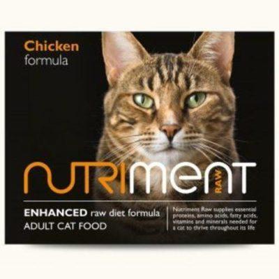 Nutriment Cat Chicken 500g raw Cat Food
