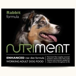 Nutriment Rabbit Formula raw Dog Food