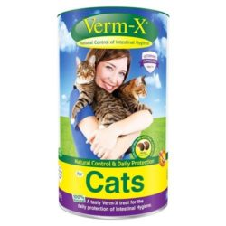 Verm-x for cats 60g Natural Worming For Cats