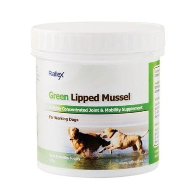 Riaflex Green lipped Mussel for dogs