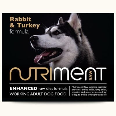 nutriment rabbit & turkey complete