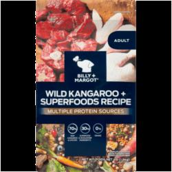 Billy & Margot Wild Kangaroo and superfoods