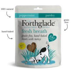 Forthglade Fresh breath turkey treats Green's for healthy pets