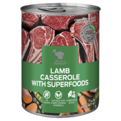 Billy and Margot Lamb Casserole with Superfoods