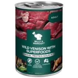Billy and margot Venison Can with Superfoods