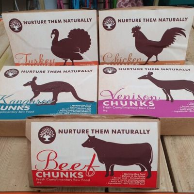Nurture them Naturally boneless Chunks Raw Dog Food