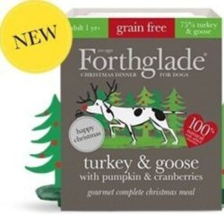 Forthglade Christmas Turkey and Goose with Cranberries and Pumpkin