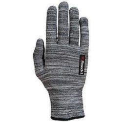 grey seamless glove dog walking, comfy, also used as liner glove
