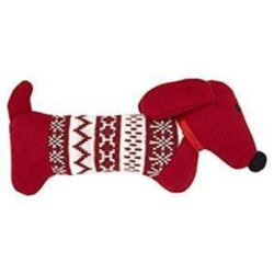 Good Boy Knitted Sausage Dog Toy
