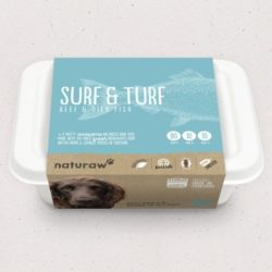 Naturaw Surf n Turf raw dog food