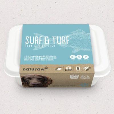 Naturaw Surf n Turf raw dog food