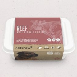 Naturaw Beef with Organic Chcken