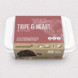 Naturaw Tripe and Heart with Duck