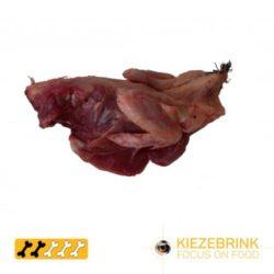 Quail carcasses Novel Protein Raw Dog Food