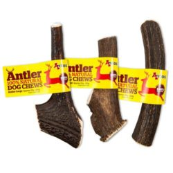 antler natural dog chew