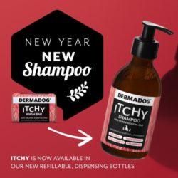 itchy dog liquid shampoo from dermadog