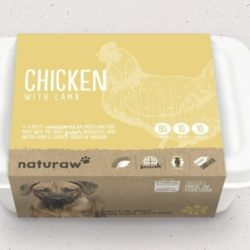 naturawchicken and lambrawdogfood