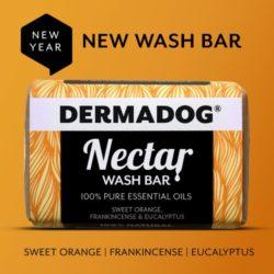 dermadog nectar wash bar for dogs