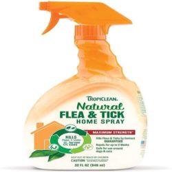 tropiclean flea spray for the home