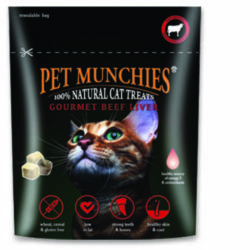 Pet Munchies Beef Liver Cat Treats