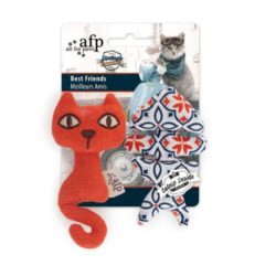 All For Paws Catnip toy best friends