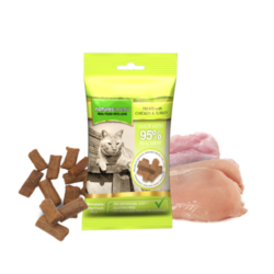 Natures menu cat treats with chicken & turkey