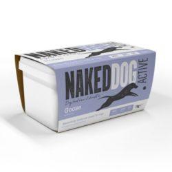 Naked Dog Active Range Goose Raw Dog Food