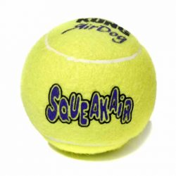 Kong Air Squeaker Tennis Ball Medium (single)
